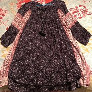 American Eagle Boho Dress. Size SP